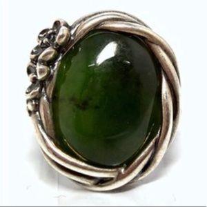 Pandora Nephrite Jade Ring